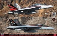 Hasegawa 652165 F/A 18E/F Super Hornet  2 Modelle