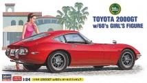Hasegawa 652166 Toyota 2000GT mit Figur
