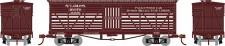 Athearn 05254 SLIM&S Old Time 36' Stock Car #16076