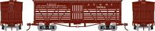 Athearn 05257 ATSF Old Time 36' Stock Car #52584
