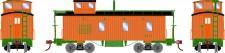 Athearn 11716 EJE 3-Window Caboose #113