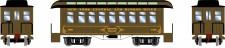 Athearn 12404 NYC 34' Overton Personenwagens