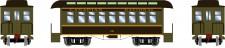 Athearn 12408 CN 34' Overton Personenwagens