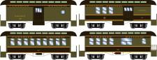 Athearn 12409 CN 34' Overton Personenwagens Set