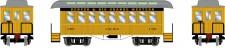 Athearn 12410 DRGW 34' Overton Personenwagens