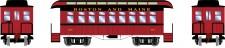 Athearn 16373 BM 34' Overton Personenwagens
