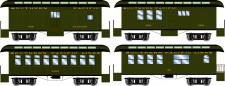 Athearn 16378 SP 34' Overton Personenwagens Set