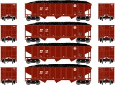 Athearn 25568 BNSF Selbstentladewagen