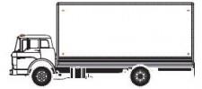 Athearn 29453 UPS/No Logo 40' Parcel Trailer