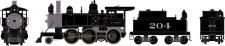 Athearn 87210 ATSF Dampflok 2-6-0 Mogul DCC ready