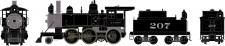 Athearn 87211 ATSF Dampflok 2-6-0 Mogul DCC ready