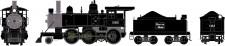 Athearn 87215 BM Dampflok 2-6-0 Mogul DCC ready