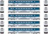 Athearn G23743 Amtrak Surfliner Personenwagen 5-tlg.