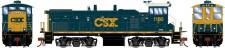 Athearn G74532 CSX Diesellok MP15AC #1180