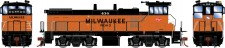 Athearn G74618 MILW Diesellok MP15AC #434