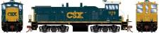 Athearn G74631 CSX Diesellok MP15AC #1179