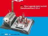 Wilesco 00032 D32 elektr. Dampfmaschine Vorführmodell