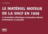 La vie du Rail 110127 Le Matériel Moteur SNCF en 1958