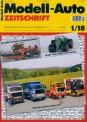 Modell-Auto Zeitschrift 0118 MAZ - Modell Auto-Zeitung 01/2018