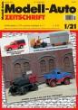 Modell-Auto Zeitschrift 0121 MAZ - Modell Auto-Zeitung 01/2021