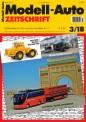 Modell-Auto Zeitschrift 0318 MAZ - Modell Auto-Zeitung 03/2018