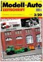 Modell-Auto Zeitschrift 0320 MAZ - Modell Auto-Zeitung 03/2020