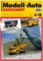 Modell-Auto Zeitschrift 0618 MAZ - Modell Auto-Zeitung 06/2018