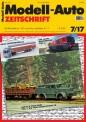 Modell-Auto Zeitschrift 0717 MAZ - Modell Auto-Zeitung 07/2017