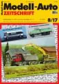 Modell-Auto Zeitschrift 0817 MAZ - Modell Auto-Zeitung 08/2017