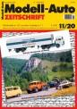 Modell-Auto Zeitschrift 1120 MAZ - Modell Auto-Zeitung 11/2020