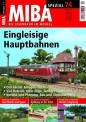 MIBA 07772 Spezial 74 Eingleisige Hauptbahnen
