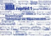 MIBA 07811 Reprint 1 Bauzeichnungen