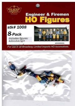 BLI 1008 Engineer/Firemen 8-pack