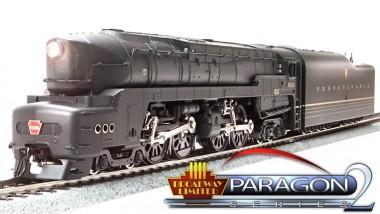 BLI 3286 PRR Dampflok Serie T-1 Ep.2/3