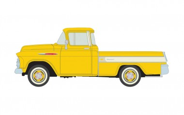 Classic Metal Works 30573 Chevrolet 3100 Cameo Carrier Pickup, Gol