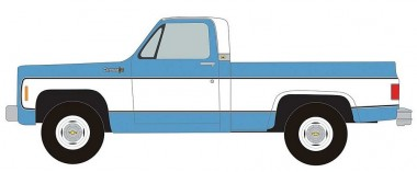 Classic Metal Works 30607 Chevrolet C/K-10 Cheyenne Pickup blau
