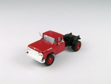 Classic Metal Works 31163 Ford F-600 Zugmaschine mc rot 1960