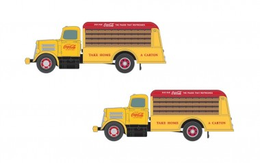 Classic Metal Works 50395 2x WC22 LKW - Coca Cola