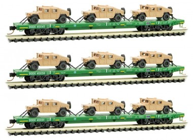MTL 99301612 DODX Flachwagen-Set 3-tlg Ep.5/6
