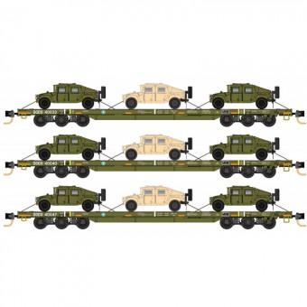 MTL 99301810 DODX Flachwagen-Set 3-tlg Ep.5/6