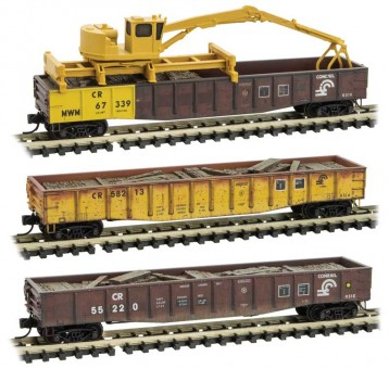 MTL 99301880 CR offene Güterwagen-Set 3-tlg Ep.4