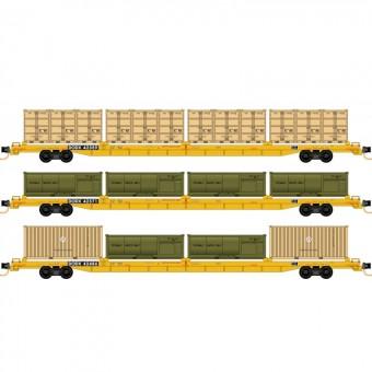 MTL 99301910 DODX Flachwagen-Set 3-tlg Ep.5/6