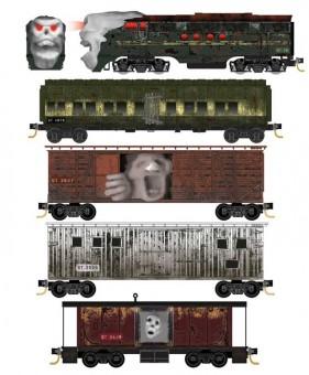 MTL 99321300 Halloween Ghost Train Set