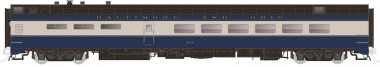 Rapido Trains 124017 B&O  Speisewagen 4-achs Ep.3/4