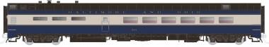 Rapido Trains 124018 B&O  Speisewagen 4-achs Ep.3/4