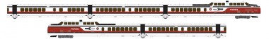 Rapido Trains 520003 Amtrak Triebzug TurboTrain 5-tlg Ep.4
