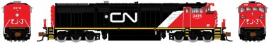 Rapido Trains 540012 CN Diesellok Dash 8-40CM Ep.5