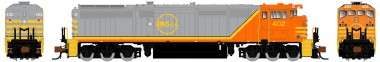 Rapido Trains 540528 QNSL Diesellok Dash 8-40CM Ep.5