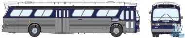 Rapido Trains 701015 GM New Look/Fishbowl Bus Connecticut Tr.