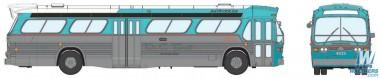 Rapido Trains 701018 GMC TDH-5301 DC Transit (Washington)